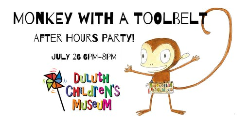 Monkey with a Toolbelt After Hours Party!