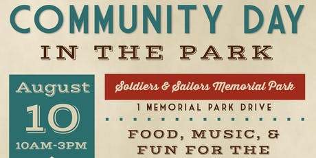 Community Day in the Park tickets