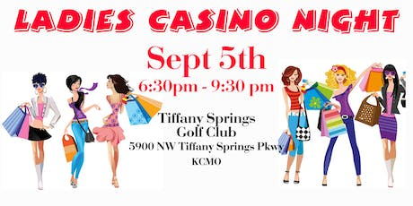 LADIES CASINO NIGHT tickets
