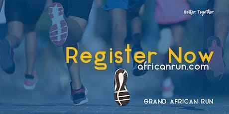 Grand African Run _ Embassies tickets