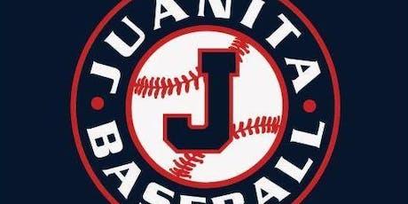 Juanita Baseball Club Tryouts for 2020 Season tickets
