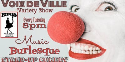 FREE French Quarter Variety show at MRB