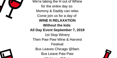 Adult Time-out Wine Relaxation in Michigan  tickets