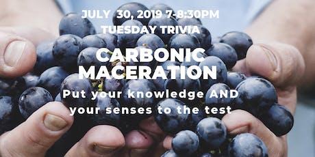 Blind Tasting & Trivia Challenge – Carbonic Maceration tickets