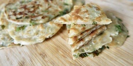 Taiwanese Breakfast Workshop: 蔥油餅 Scallion Pankcake + Sides Tickets
