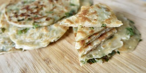 Taiwanese Breakfast Workshop: 蔥油餅 Scallion Pankcake + Sides
