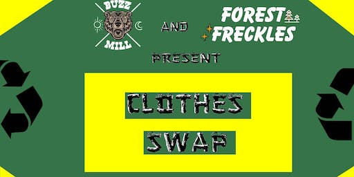 1st Clothes Swap by Buzz Mill ATX and Forest Freckles