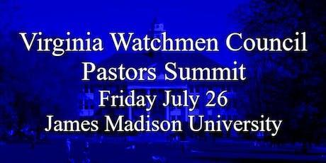 Virginia Watchmen Council Pastors Summit & Valley Family Forum Events tickets