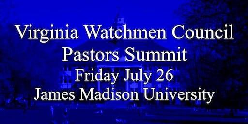 Virginia Watchmen Council Pastors Summit & Valley Family Forum Events