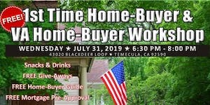 Veterans' First time Home-Buyer Workshop