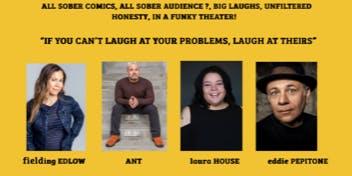 """""""SOBRIEY RIOT"""" Sober Comedy Show"""