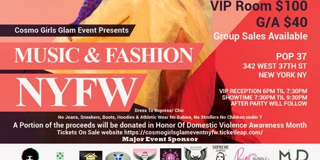 Cosmo Girls Glam Event NYFW Music & Fashion tickets
