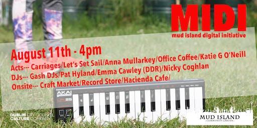 MIDI - Mud Island Digital Initiative - Afternoon Tickets