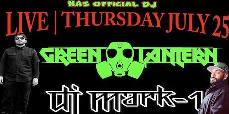 GROWLER USA RALEIGH PRESENTS | DJ GREEN LANTERN & DJ MARK-1 | 7/25/2019 tickets