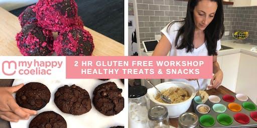GLUTEN FREE HEALTHY TREATS & SNACKS WORKSHOP