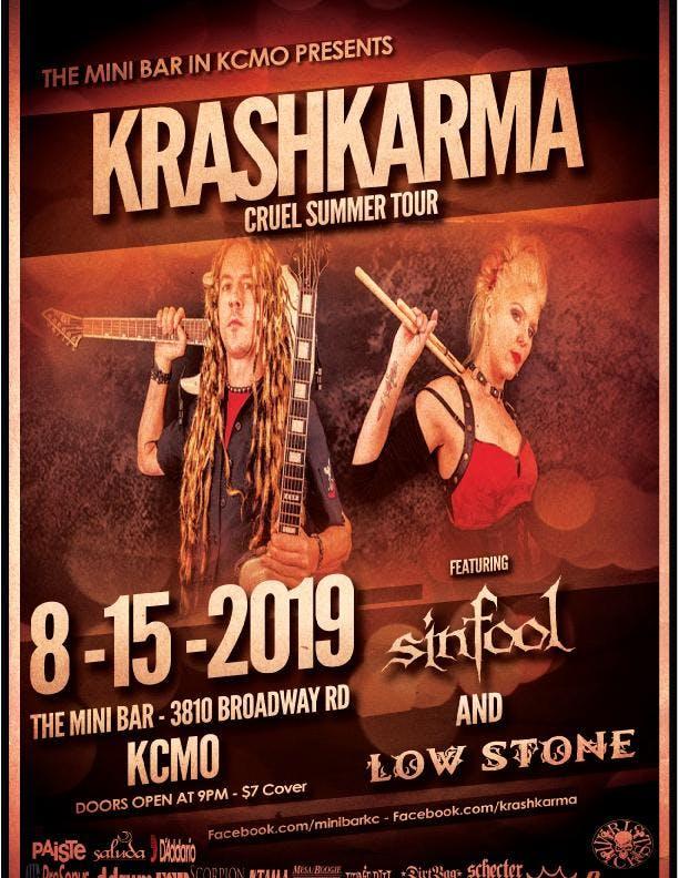 Krashkarma / Drek / Sinfool / Low Stone