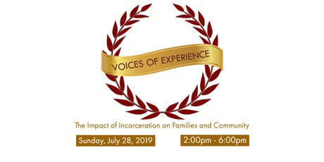 Voices of Experience: The Impact of Incarceration on Families and Community tickets