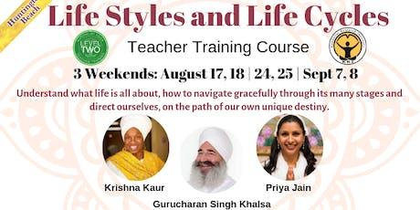 Kundalini Level - 2: Life Styles & Life Cycles w/ Krishna Kaur & Gurucharan tickets