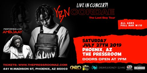 YBN Cordae: THE LOST BOY TOUR