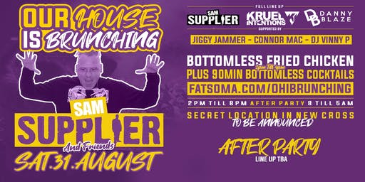Our House Is Brunching Launch w/ Sam Suppiler & Friends