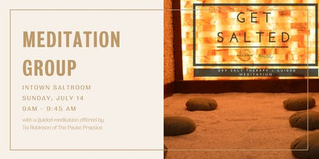 Mothers and Co -- Guided Mediation with Pause Practice & Intown Salt Room tickets