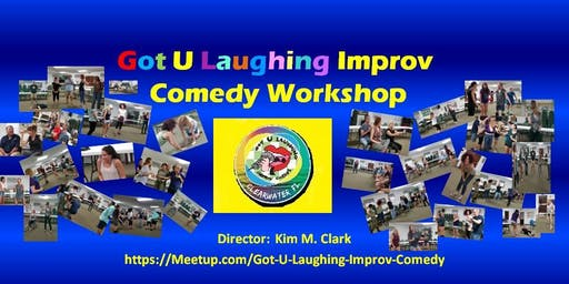 Improv Comedy Workshop - Every Tuesday in Palm Harbor.  Fun!