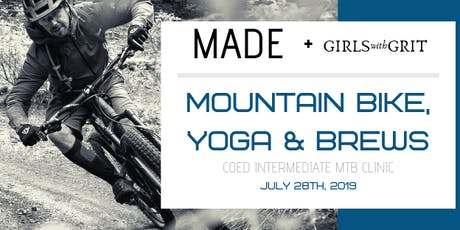 MADE & GIRLS WITH GRIT COED INTERMEDIATE MTB CLINIC tickets