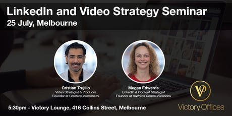 Victory Lounge | Linkedin and Video Strategy Seminar tickets