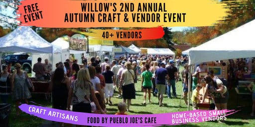 Willow's 2nd Annual Autumn Craft & Vendor Event