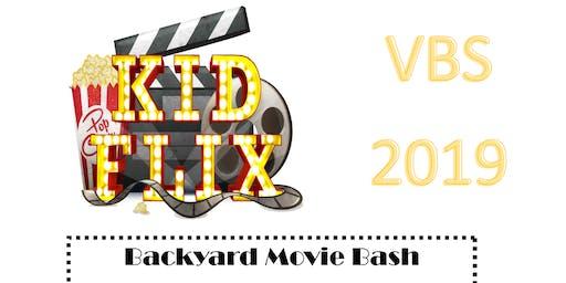 VBS 2019-Backyard Movie Bash