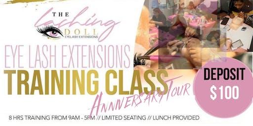 Lash Class Training Tour Chicago