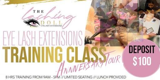 Lash Training Tour Lansing