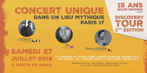 15ans 8ClosMusic - DISCOVERY TOUR 1ere Edition