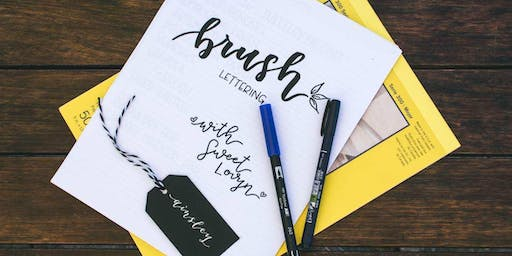 Brush Lettering with Sweet Lov.y.n
