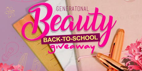 Jadacy Presents Back to school Beauty Giveaway  tickets