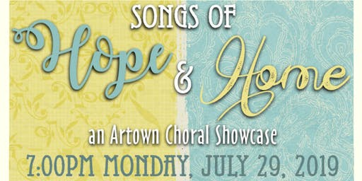 Songs of Hope & Home - An Artown Choral Showcase - Voices of Nevada
