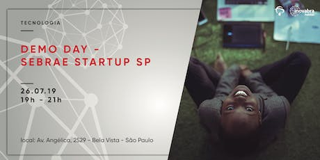 Demo Day - Sebrae Startup SP ingressos