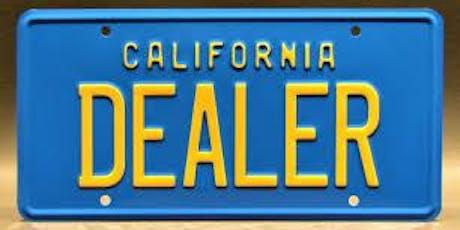 California DMV - Open a Dealership Class - TriStar Motors Bakersfield tickets
