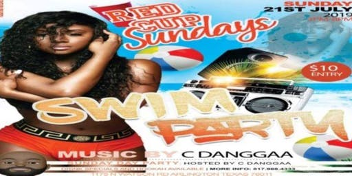 Red Cup Sunday Funday Adult Pool Party