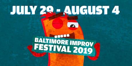 Baltimore Improv Festival: Sunday at 4 tickets