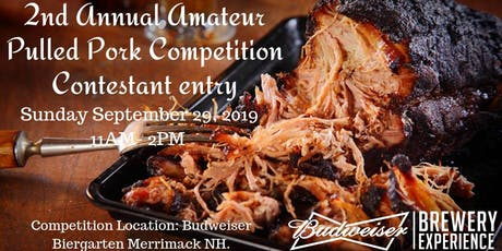 2nd Annual Amateur Pulled Pork Competition tickets