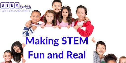 STEM Workshops - A Taste of STEM (For Grades K-4)