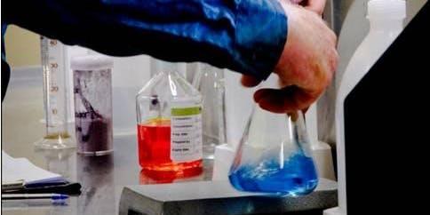 Wastewater Testing Display