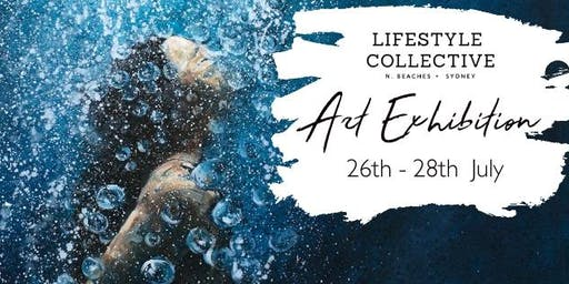 Opening Night - Lifestyle Collective Northern Beaches  Art Exhibition