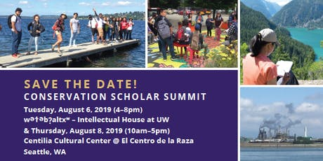 Conservation Scholar Summit: Day 1 | Stories From the Field tickets
