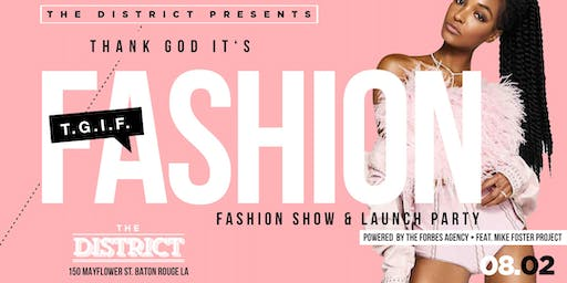 T.G.I.F. Thank God It's Fashion  Feat. The Mike Foster Project