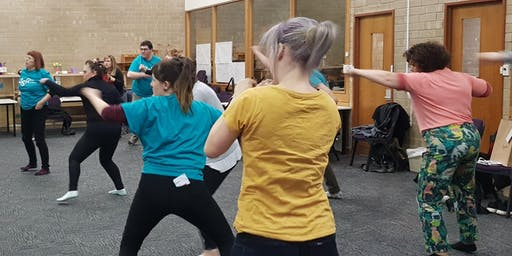 Stage Combat Workshop with Ruth Fallon