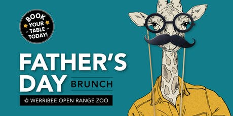 Father's Day Brunch -  Werribee Zoo tickets