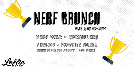 Nerf Brunch tickets