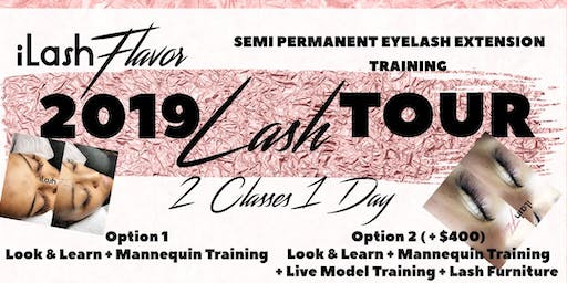 iLash Flavor Eyelash Extension Training Seminar - Jackson Mississippi
